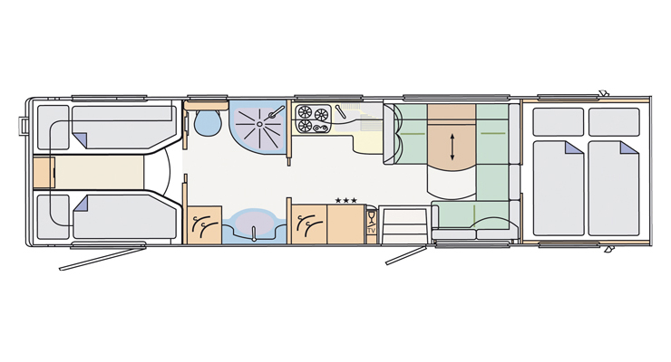 Southdowns New Motorhomes 2010 Concorde Cruiser Layouts