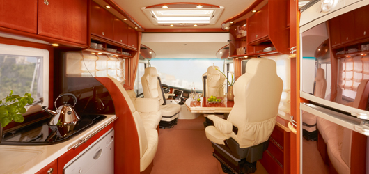 2010 Concorde D-Liner Living Area