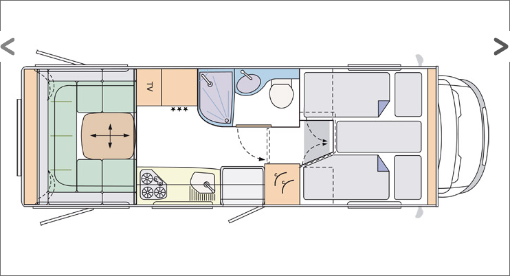 28 New Motorhome Designs Layouts