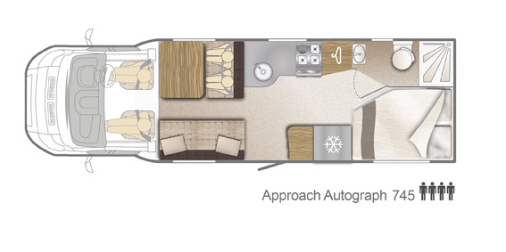 Creative Southdowns | New Motorhomes | 2016 Bailey Autograph Motorhome 745 For Sale At Southdowns ...