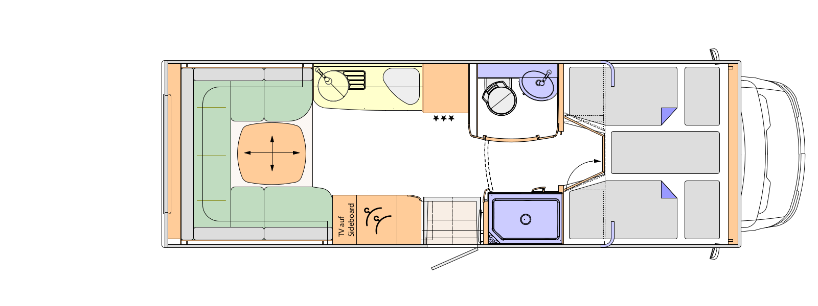 6f3d102b0aa1d8 2017 Concorde Cruiser 791RL Iveco Daily Coachbuilt Motorhome