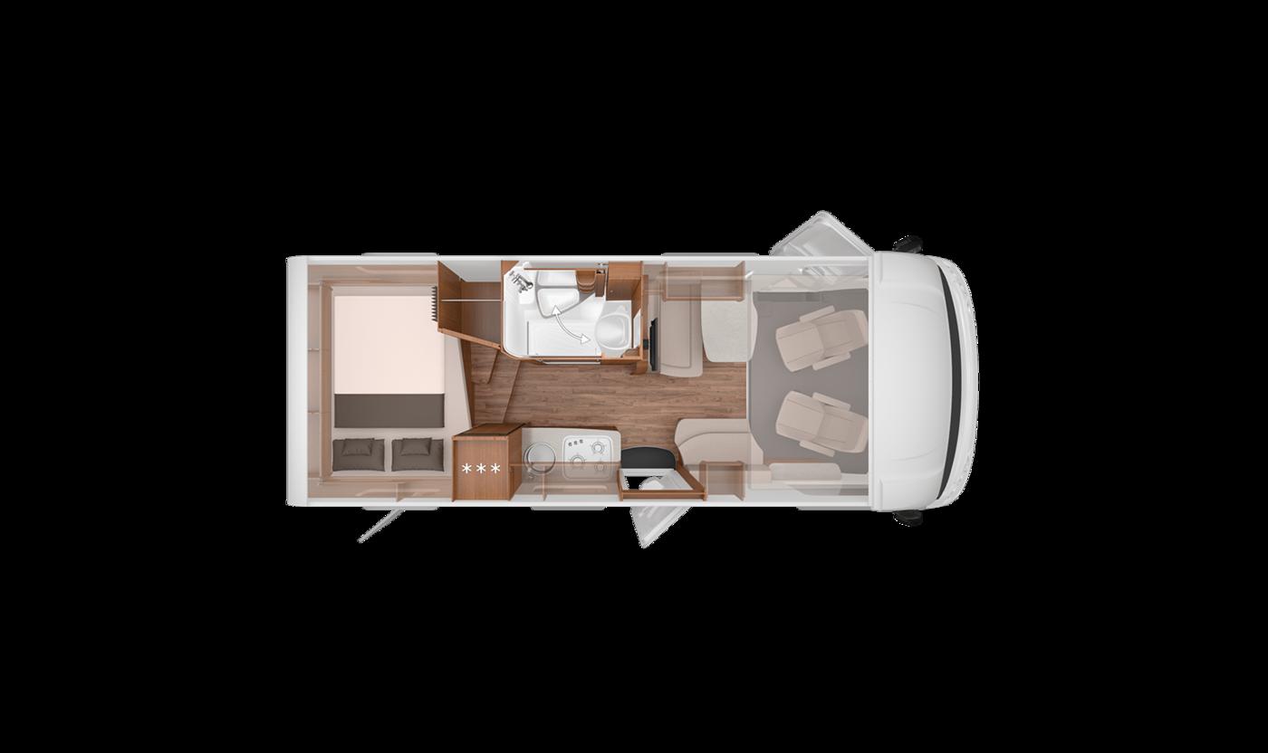 Southdowns New Motorhomes 2018 Knaus Van I A Class Layouts