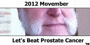 2012 Movember - Fighting Prostate Cancer