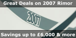 Secial Offer Deals on 2007 Season Rimor Motorhomes