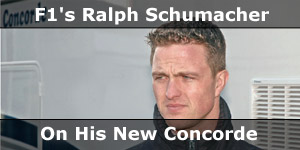 F1 Ace Ralph Schumacher on His New Concorde Motorhome News Story