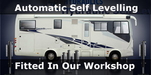 E&P Self Levelling Systems for Motorhomes & Horseboxes Fitting in our Portsmouth Workshop Banner Link
