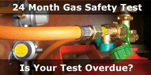 Is You 24 Month Motorhome Gas Safety Test Overdue