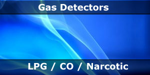 LPG CO Narcotic Aneasthetic Gas Detectors for Motorhomes