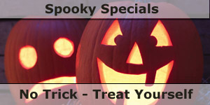 Spooky Specials No Tick Treat Yourlef Special Offers on Motohomes and Camping Accessories