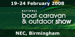 2008 National Boat Caravan & Outdoor Show NEC Event News Story
