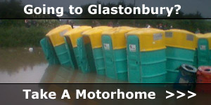 Going To Glastonbury Festival in a Motorhome News Story