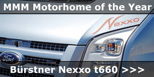 MMM Motorhome of The Year Award Winner Bustner Nexxo t660 News Story