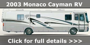 2003 Monaco Cayman RV American US RV Motorhome For Sale