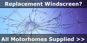 Replacement Windscreens and Repairs for Motorhomes