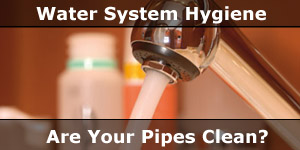 Motorhome Water Pipe System Repairs and Hygiene Cleaning