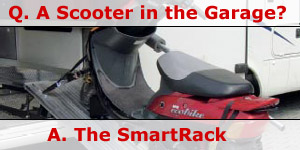 The SmartRack Motorhome Garage Motorcycle System For Sale