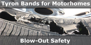 Tyron Band for the Ultimate Wheel & Tyre Safety and Protection on Your Motorhome