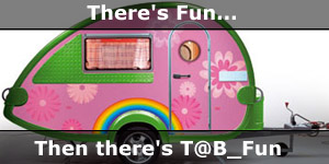 Tab Fun Enjoy Yourself in a Small Tear-drop Caravan