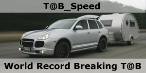 Tab Speed World Record Breaking Caravan Speed Record
