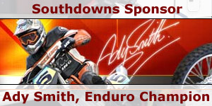 Southdowns Motorcaravans Sponsor Moto-Cross Rider Ady Smith with Motorhome News Story