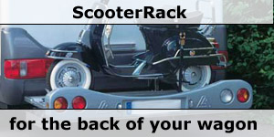 ScooterRack Motorcycle Carry System for Motorhomes