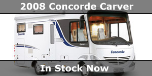 2008 Season Concorde Carver Motorhome In Stock