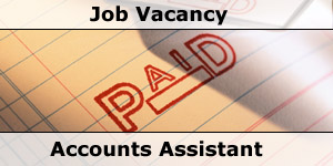 Southdowns Job Vacancy Advert Accounts Assistant