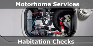 Motorhome Service Schedule Inspections and Habitation Checks