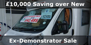 Save Over �10000 2007 Ex-Demonstrator Demo Motorhome Sale Special Offers