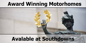 Award Winning Motorhomes and Caravans For Sale at Southdowns