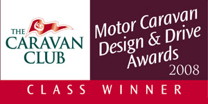 2008 Motor Caraan Design & Drive Awards Class Winner Concorde