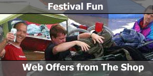 Going to Glastonbury Pop Festival in a Motorhome Special Offers