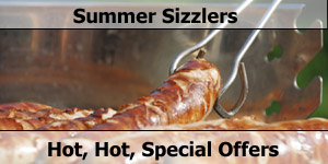 Summer Sizzlers Motorhome Special Offers & Deals