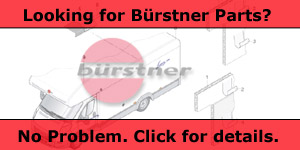 Spare Parts & Accessories for Burstner Motorhomes & Caravans