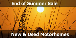 End of Summer Motorhome Sale Special Offer