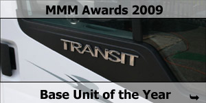 MMM Awards 2009 Ford Transit Chassis Base Unit Winner