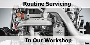 Motorhome Workshop Routine Servicing Maintenance