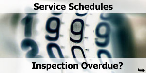 Motorhome Service Schedule Inspection and Habitation Check