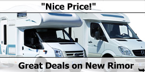 Rimor Motorhomes Nice Price Special Offer
