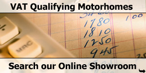 VAT Qualifying Motorhome Online Stock List Search