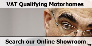 VAT Qualifying Motorhome Online Stock Listing Search
