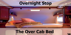 Over Cab Luton Motorhome Bed Configuration
