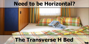Double Transverse H Back Motorhome Bed Configuration