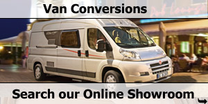 Search Our Online Showroom Stock List for Van Conversion Motorhomes