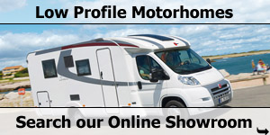 Search Our Online Showroom Stock for Low Profile Motorhomes