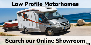 Search Our Online Showroom Stock List for Low Profile Motorhomes
