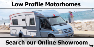 Search Our Online Showroom Stock List for Low Profil Motorhomes