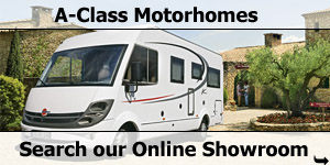 Search Our Online Showroom Stock List for A Class Motorhomes