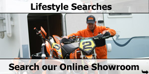 Motorcycle Garage Lifestyle Searches of our Online Motorhome Showroom