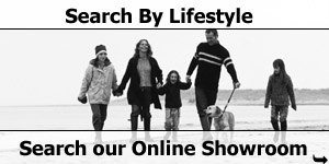 Dog Walking on the Beach Lifestyle Searches of our Online Motorhome Showroom